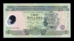 Islas Salomon Solomon 2 Dollars Commemorative 2001 Pick 23 Polymer SC UNC - Isla Salomon