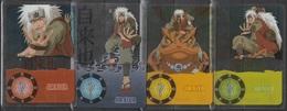 Carte Ultra Cards Panini Naruto 4 Cartes De Jiraiya - Trading Cards