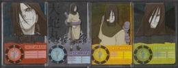 Carte Ultra Cards Panini Naruto 4 Cartes De Orochimaru - Trading Cards