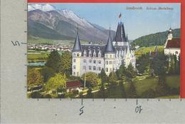 CARTOLINA NV AUSTRIA - INNSBRUCK - Schloss Mentelberg - 1912 - 9 X 14 - Innsbruck