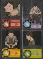 Carte Ultra Cards Panini Naruto 4 Cartes De Shikamaru - Trading Cards