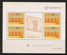 PORTUGAL  Scott # 1601a** VF MINT NH Souvenir Sheet (SS-540) - 1910-... Republic