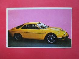 Trading Card (Cromo) - Alpine Berlinette 1.300 - Nº 11 - Col. Autos 1967 - Ed. Bruguera 1967 - (Spain) / France - Cars