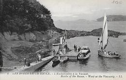 La Vicomté. L'embarcadère à La Vicomté. - France