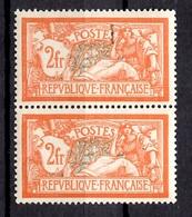 France Merson YT N° 145 En Paire Neufs ** MNH. Gomme D'origine. TB. A Saisir! - Francia