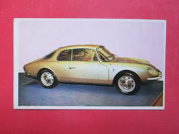 Trading Card (Cromo) - Alpine G.T. 1.100 - Nº 9 - Col. Autos 1967 - Ed. Bruguera 1967 - (Spain) / France - Cars