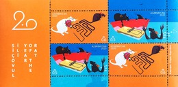 YEAR OF THE RAT 2020 Azerbaijan Stamps Azermarka - Astrology