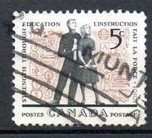 CANADA. N°323 Oblitéré De 1962. Jeunesse étudiante. - Infanzia & Giovinezza