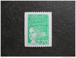 TB N° 3100a , Timbre De Roulette, Numéro Rouge, Neuf XX. - France