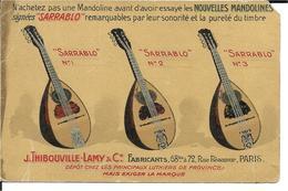 75 - Paris - J.Thibouville - Lamy - Mandoline Sarrablo - France