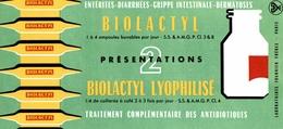 Buvard Biolactyl - Produits Pharmaceutiques