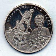GUINEA - BISSAU, 20.000 Pesos, Silver, Year 1995 - Guinea-Bissau
