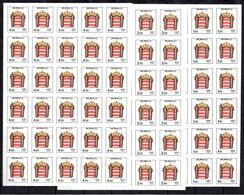 Monaco Timbres Taxe YT N° 84/86 En Blocs De 30 Timbres Non Dentelés Neufs ** MNH. TB. A Saisir! - Strafport