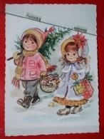 KOV 8-201 - NEW YEAR, Bonne Annee, Children, Enfant, - Nouvel An