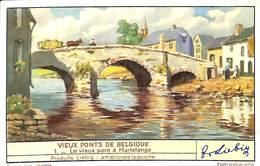 6 Chromos - Liebig - Vieux Ponts De Belgique - Liebig