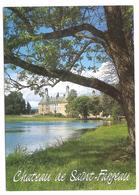 Saint Fargeau (89170) Le Chateau Vu Depuis L'etang - Saint Fargeau