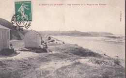 DONVILLE Les BAINS  Vue Générale De La Plage Et Des Falaises - France