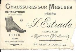 Haute Saone - 70 - Raddon - Chaussures Sur Mesures - Cordonnier - Other Municipalities
