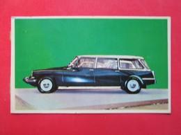 Trading Card (Cromo) - Citroën Break 19 - Nº 35 - Col. Autos 1967 - Ed. Bruguera 1967 - (Spain) / France - Voitures