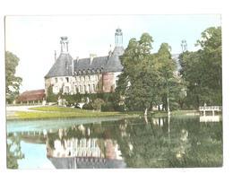 Saint Fargeau (89170) Le Chateau Vu De La Piece D'eau - Saint Fargeau