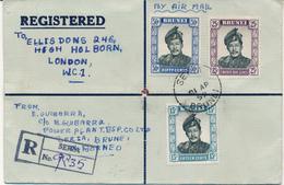 BRUNEI / SERIA -  Sultan Omar Ali Saifuddin  - R-Brief Nach London - Brunei (...-1984)