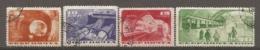 RUSSIE -  Yv N° 551 à 554  (o)  5k  Métro De Moscou   Cote  55  Euro  BE   2 Scans - 1923-1991 USSR