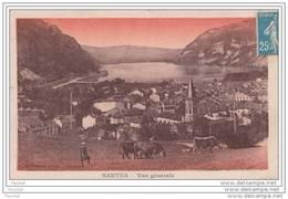 01) Nantua - Vue Générale  - (animée - Vaches) - Nantua