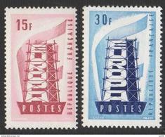 Timbres 1076 Et 1077 Europa, Neuf Sans Charnière, Cote 8,50€ - Neufs