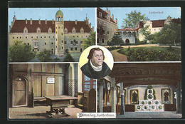 AK Wittenberg, Martin Luther, Lutherhaus, Lutherhof, Luthers Lehrstuhl - Historical Famous People