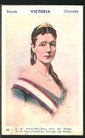 AK Biscuits Victoria Chocolats, S. M. Marie-Henriette, Reine Des Belges - Familles Royales