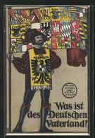 AK Was Ist Des Deutschen Vaterland, Wächter Mit Fahne, Rotes Kreuz - Croix-Rouge