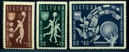 1939 Lithuania,LIETUVA, Basketball European Championship,Kaunas,Mi.429,CV$40,MNH - Basketball