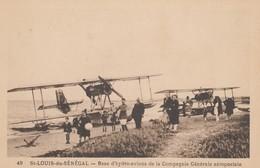 SAINT-LOUIS-du-SENEGAL: Base D' Hydro-avions De La Compagnie Générale Aéropostale - 1919-1938: Between Wars