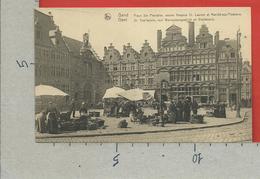 CARTOLINA NV BELGIO - GAND GENT - Place S.te Pharailde Ancien Hospice St. Laurent Et Marche Aux Poissons - 9 X 14 - Gent