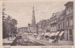 481237Leeuwarden, Voorstreek R. K. Kerk Met Bonifacius Hospital. – 1920. (zie Hoeken) - Leeuwarden