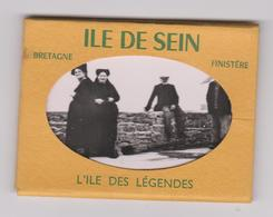 Carnet De 10 Mini Photos Ile De Sein 9 X6,5 CM - Ile De Sein