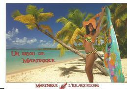 Martinique Un Bisou L'iles Au Fleurs - Martinique