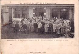 88 - Vosges - REMIREMONT - Carte Lettre Militaire - 15 Eme Bataillon De Chasseurs A Pied - En Attendant La Soupe - Rare - Remiremont