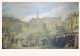 AL82 Opening Of The Mid Lent Fair In Grantham Ca. 1820 - Modern Postcard - Altri