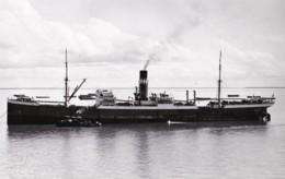 "AM15 Shipping Photograph - Cargo Ship ""City Of Dunkirk"" - Repro's"