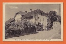 Selzach, Alkoholfreies Restaurant - Besitzerin H. Gisiger - SO Solothurn