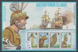 BRITRISH  ISLAS  1975  **   MNH  YVERT  S/S  6 - Iles Vièrges Britanniques