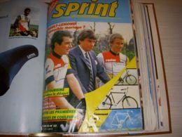 CYCLISME SPRINT INTERNATIONAL 53 02.1985 GUIDE EQUIPES HINAULT LEMOND TAPIE - Deportes