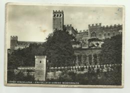 TRINO VERCELLESE - CASTELLO DI CAMINO MONFERRATO VIAGGIATA FG - Vercelli