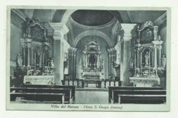 VILLA DEL NEVOSO - BISTERZA - CHIESA S.GIORGIO 1941   VIAGGIATA FP - Slovénie