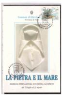 TEM11009    -   RICCIONE  14.8.1992   /   2° RASSEGNA INT.LE SCULTURA ALL'APERTO - Scultura