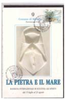 TEM11011    -   RICCIONE  16.8.1992   /   2° RASSEGNA INT.LE SCULTURA ALL'APERTO - Scultura
