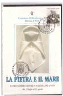 TEM11013    -   RICCIONE  19.8.1992   /   2° RASSEGNA INT.LE SCULTURA ALL'APERTO - Scultura