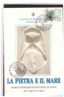 TEM11012    -   RICCIONE  16.8.1992   /   2° RASSEGNA INT.LE SCULTURA ALL'APERTO - Scultura