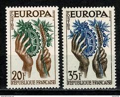 Timbres 1122 1123 Europa, Neuf Sans Charnière, Cote 2,20€ - Neufs